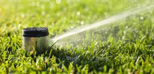 underground sprinkler system installation