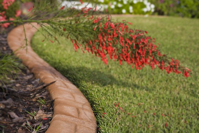 Garden Rock Edging
