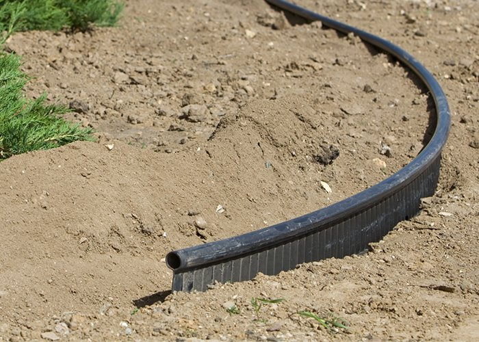 Plastic Edging Installation Sioux Falls