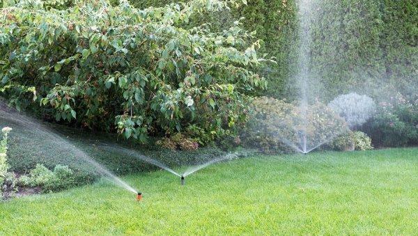Underground sprinklers start up Sioux Falls