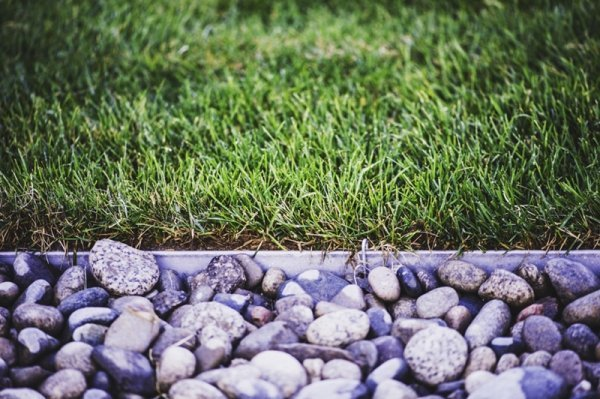Landscape rock edging